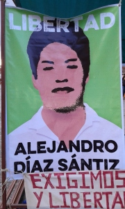 Evento por la liberación de Alejandro Díaz Sántiz y Mumia Abu-Jamal. Foto: @Sipaz.
