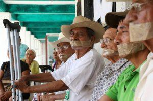 Huelga de hambre contra construcción de la CFE (@Educa)