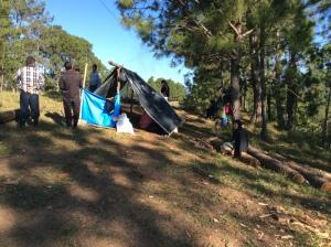 Campamento de ddesplazamiento forzado @ChiapasDenunciaPública