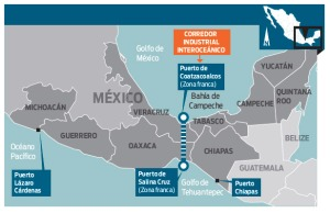 Ubicación de las Zonas Económicas Especiales. Imagen: @Dinero en Imagen