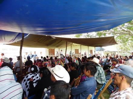 Asamblea en la comunidad de San Isidro Los Laureles @RadioZapatista