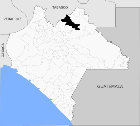 Mapa Salto de Agua